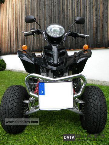 2010 Hyosung  HS 200 ATV Quad with a new street tires Motorcycle Quad photo