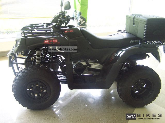 2012 Aeon  Cross Country 350 4x4 with Anhängerkuppl. / Kolpinbox Motorcycle Quad photo