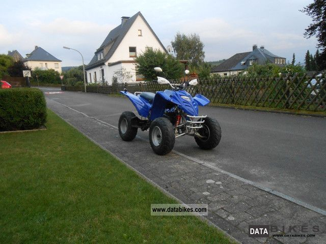 2006 Adly  ADLY 50 RS XXL SUPER SONIC, 2 PERSONS road legs Motorcycle Quad photo