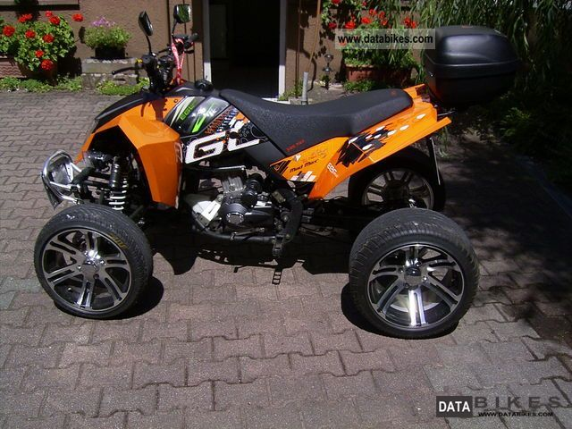 Bashan  Eagle Lyda 203E Mad Max 2011 Quad photo