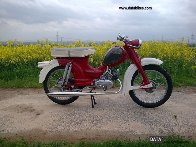 1961 Zundapp  Zundapp Super Combinette Motorcycle Motor-assisted Bicycle/Small Moped photo