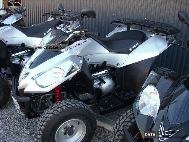 2012 E-Ton  Vector 300 as new Motorcycle Quad photo