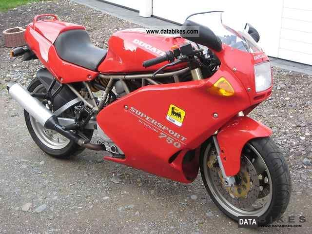 1996 Ducati  SS750 Motorcycle Sports/Super Sports Bike photo