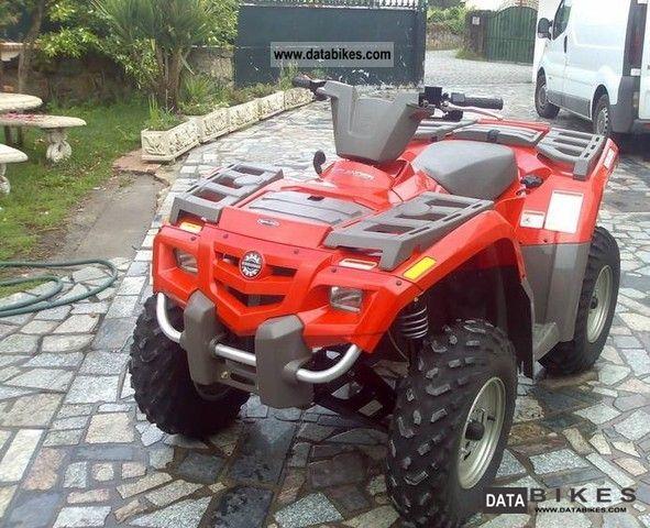 Can Am  Outlander 400 2009 Quad photo