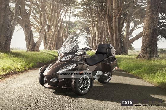 2012 Can Am  Spyder SE5 RT LTD Motorcycle Trike photo