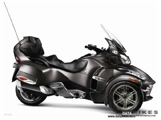 2012 Can Am  RT-S Spyder SE5 Motorcycle Trike photo