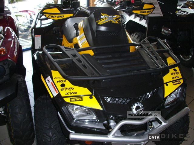 2012 Can Am  Outlander 800R EFi with LOF XxC approval Motorcycle Quad photo