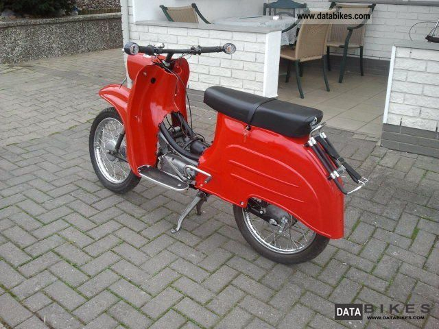 1983 Simson  Schwalbe KR 51/1 Motorcycle Motor-assisted Bicycle/Small Moped photo