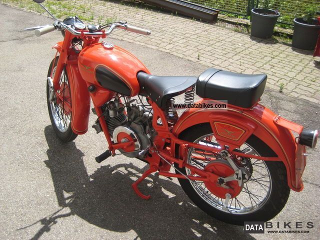 Moto Guzzi  Airone 250 1957 Vintage, Classic and Old Bikes photo