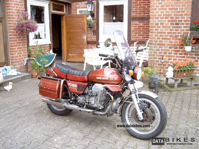 Moto Guzzi  i convert-v 1000 1976 Vintage, Classic and Old Bikes photo