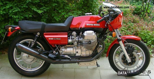 Moto Guzzi  850 Le Mans 1978 1979 Vintage, Classic and Old Bikes photo
