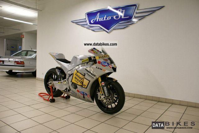2010 Honda  Moriwaki MD600 Moto2/MotoGP Prototype Rennmotorr Motorcycle Racing photo