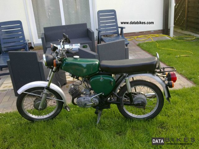 Simson  S 51 1978 Vintage, Classic and Old Bikes photo