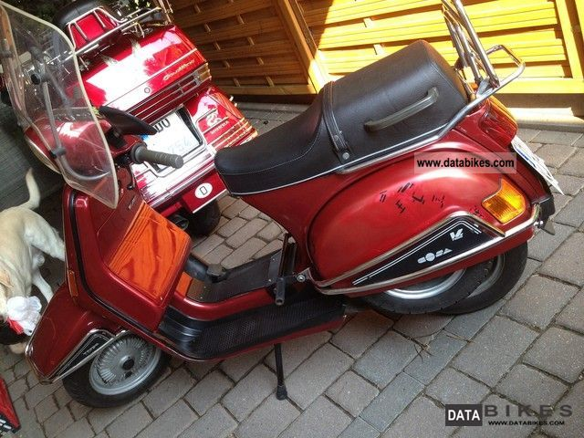 1991 vespa cosa lx 200. Black Bedroom Furniture Sets. Home Design Ideas