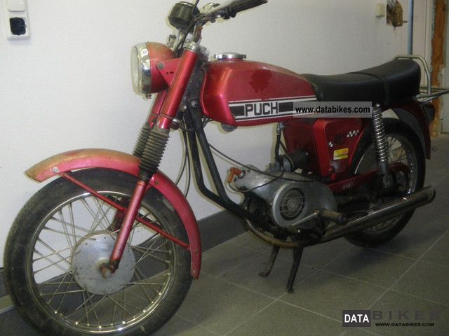 Puch  M 50 SG 1972 Vintage, Classic and Old Bikes photo