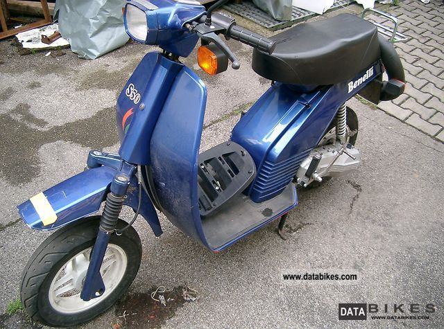 1991 Benelli  S50 Motorcycle Scooter photo
