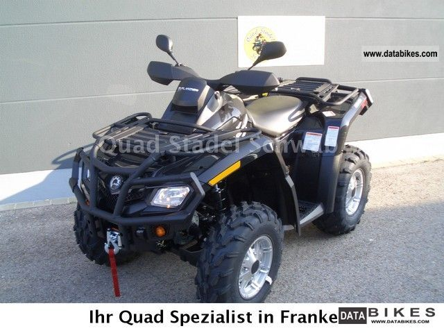 Can Am  Outlander 500 xt 2012 Quad photo