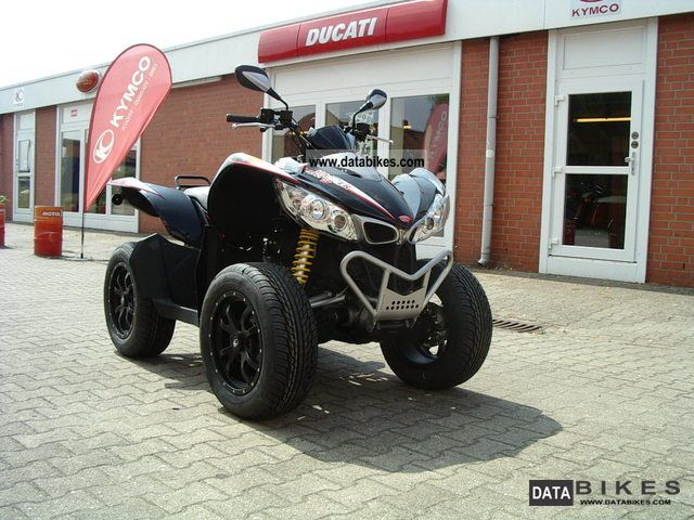 2012 Kymco  Maxxer 450R i.e. 4x4 OnRoad Motorcycle Quad photo