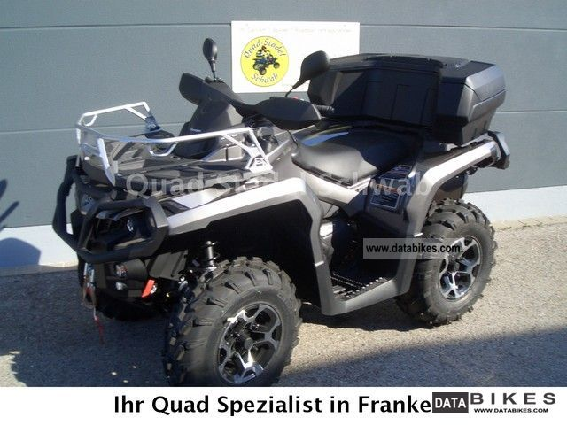 Can Am  Outlander 1000 2012 Quad photo