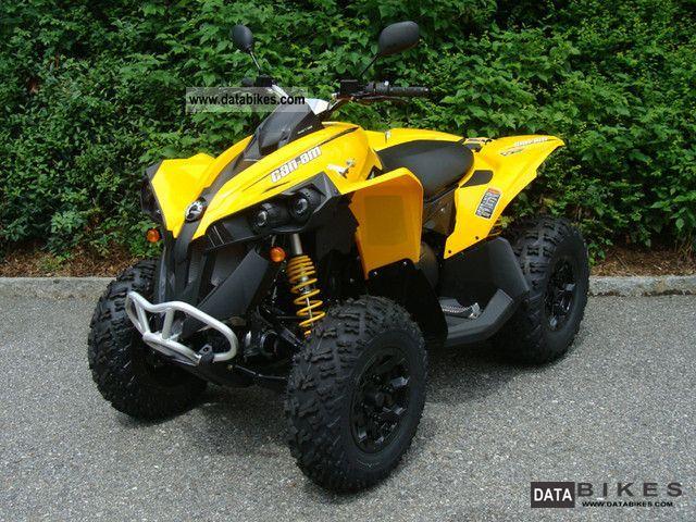Can Am  Renegade 800R EFI 4-year warranty ** ** 2012 Quad photo