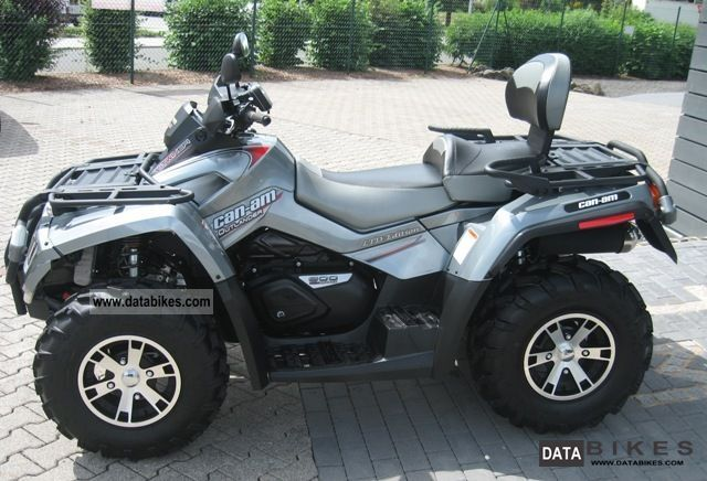 quad can am 2009