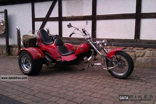 2001 Boom  Chopper Motorcycle Trike photo