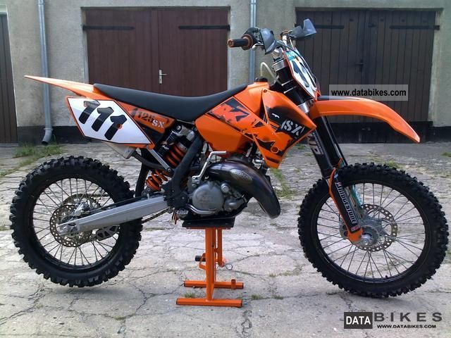 2006 KTM  125 SX Motorcycle Rally/Cross photo