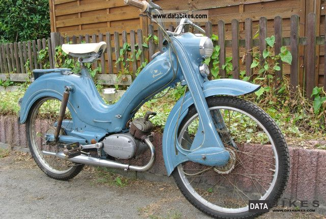DKW  Hummel 1957 3 speed scooter in original paint 1957 Vintage, Classic and Old Bikes photo