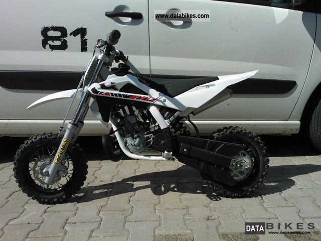 2011 Husqvarna  CR 50 Motorcycle Motorcycle photo
