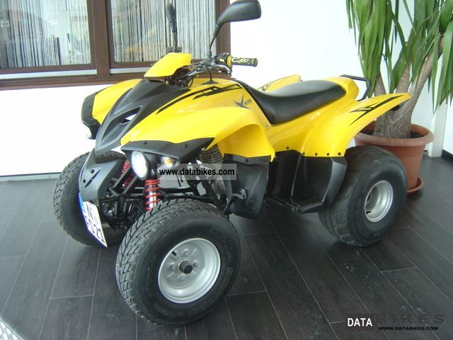 2008 Adly  300 * 1. * Hand only 661 km Motorcycle Quad photo