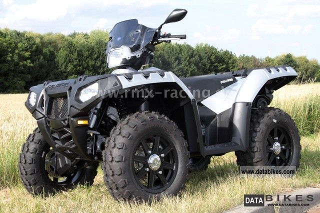 Polaris  XP 850 EPS - SILVER STAR - LOF with approval 2012 Quad photo