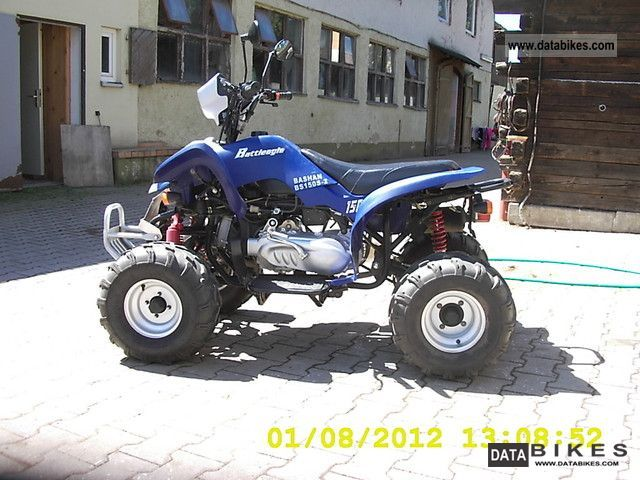 2008 Bashan  BS 150 S - 2 Motorcycle Quad photo