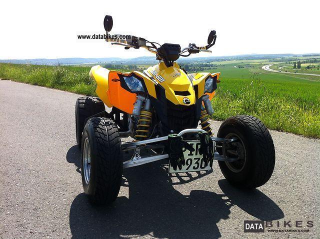 2009 Bombardier  CAN AM DS 450 QUAD / ATV Motorcycle Quad photo