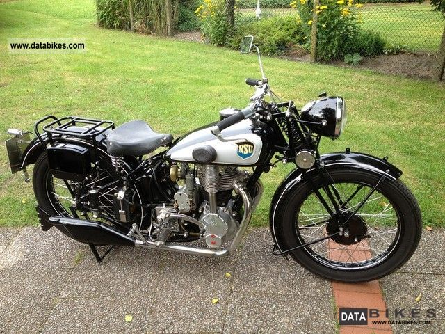 NSU  351 OSL 1938 Vintage, Classic and Old Bikes photo
