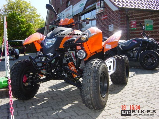 2012 Adly  Hurricane 500S LoF (open output) Motorcycle Quad photo