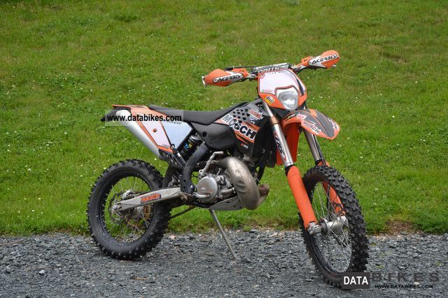 2009 KTM  200 EXC Motorcycle Enduro/Touring Enduro photo
