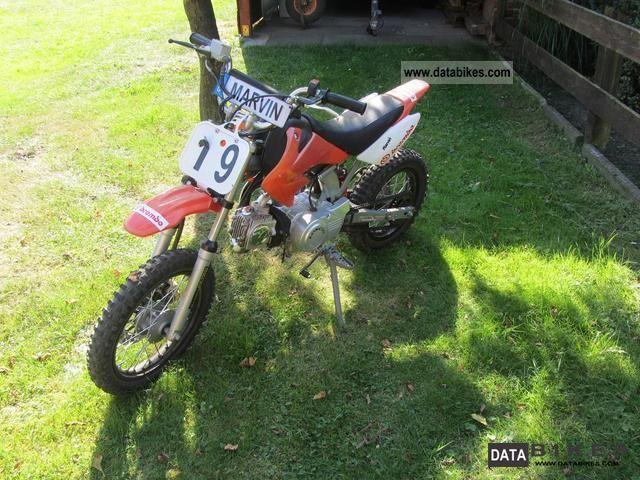 2008 110cc dirt bike