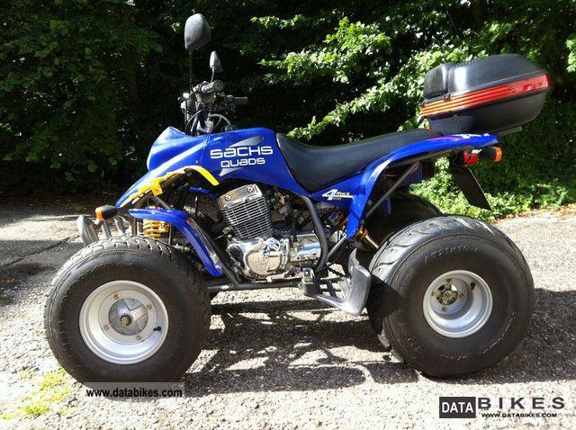 2008 Sachs  4 rock 250 Motorcycle Quad photo