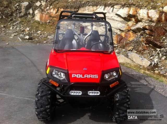 Polaris  RZR EU TRACTOR 2011 Electric Motorcycles photo