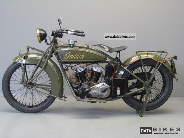 Indian  scout 1925 Vintage, Classic and Old Bikes photo