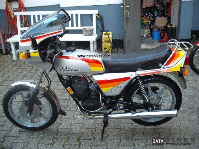 1982 Herkules  RS 80 Motorcycle Lightweight Motorcycle/Motorbike photo