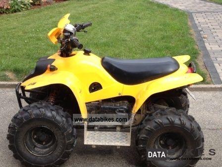2003 CPI  50 crab Motorcycle Quad photo
