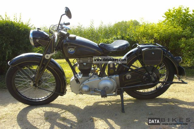 NSU  OSL 251 1943 Vintage, Classic and Old Bikes photo