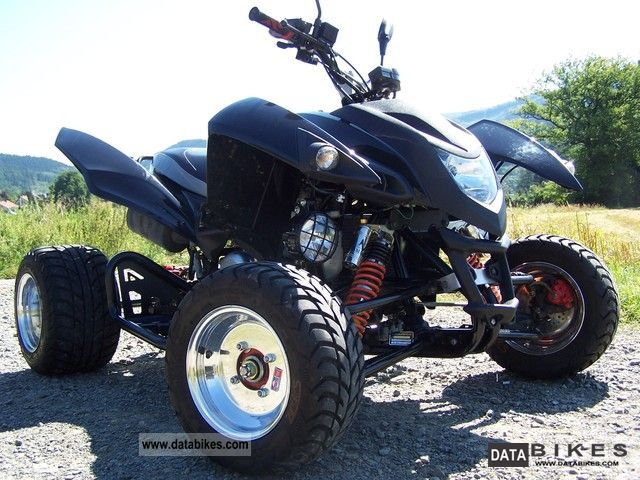 2010 Adly  500s Flat Motorcycle Quad photo
