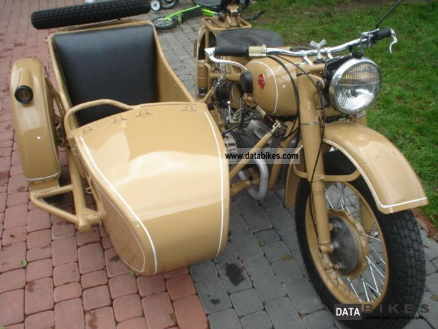 1969 Ural  m-72 Motorcycle Combination/Sidecar photo