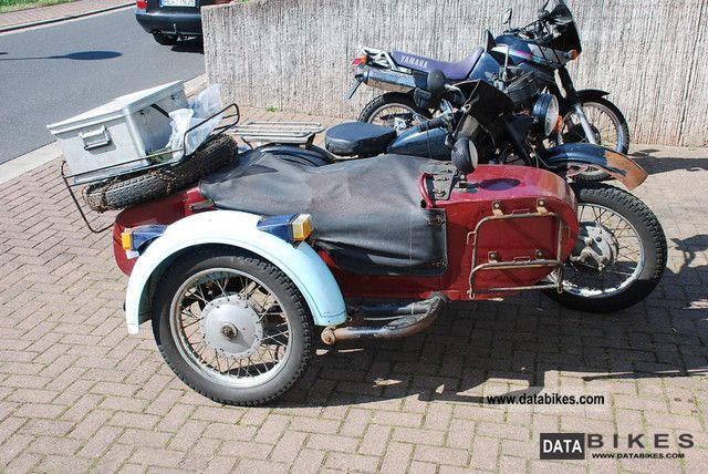 1984 Ural  8103-650 cc Motorcycle Combination/Sidecar photo