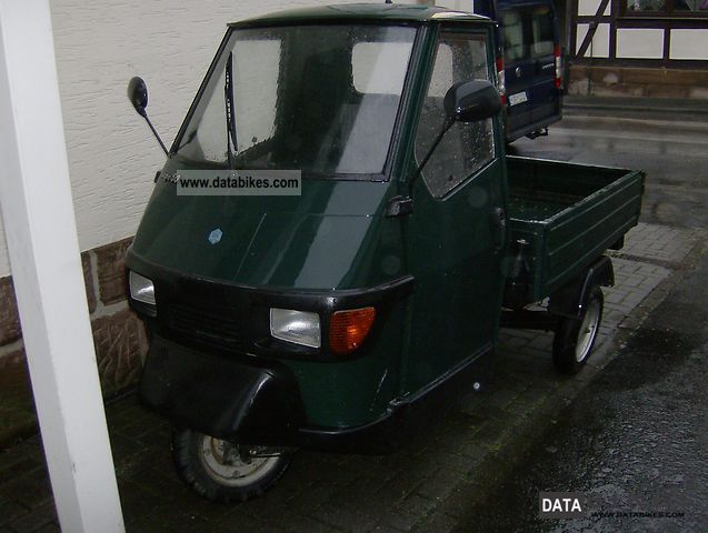 1996 Piaggio  Ape 50 Motorcycle Scooter photo