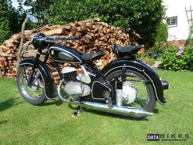 DKW  RT 250/2 1956 Vintage, Classic and Old Bikes photo