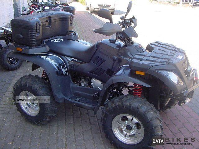 2012 Linhai  Carrier 4x4 Quad with LOF approval Motorcycle Quad photo