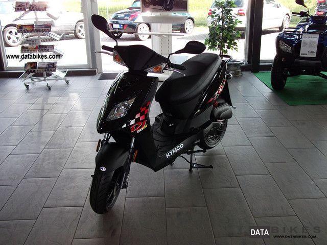 2012 Kymco  DJ 50 S 25 & 45 KM / H Motorcycle Scooter photo